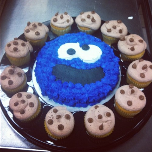 #cookiemonster #cake