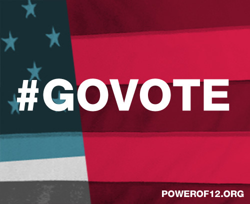 #GoVote and make it count. Find out how to vote here.