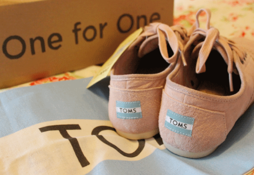 infinity-megan:  new toms! they're the rose cordones :)
