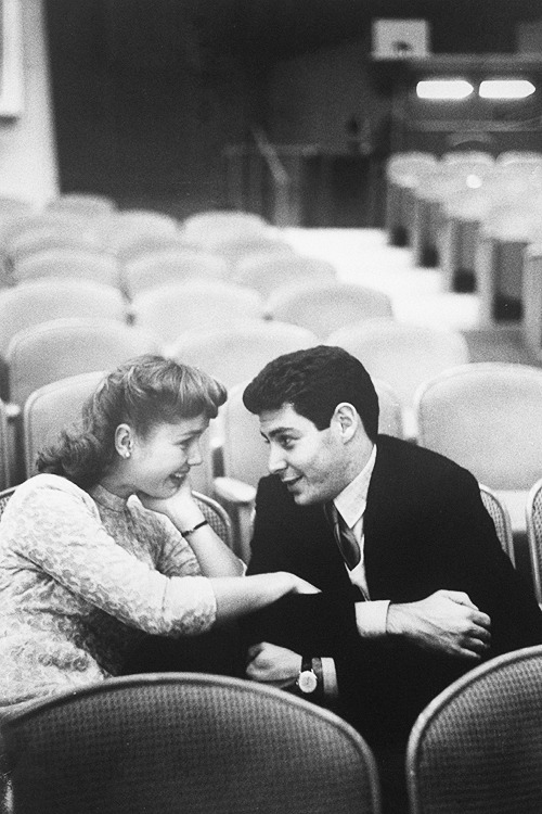 Debbie Reynolds & Eddie Fisher, 1955.