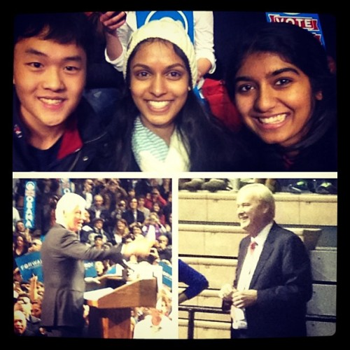 Chris Matthews and Bill Clinton!!! @mrajapaksa #obama2012campaign #november6th #VOTE #election2012