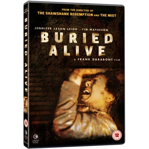 Buried Alive [1990] — Starring: Jennifer Jason Leigh, Tim Matheson, and Hoyt Axton. Directed by: Frank Darabont  An underappreciated film, that i've always loved. Watching this, now.