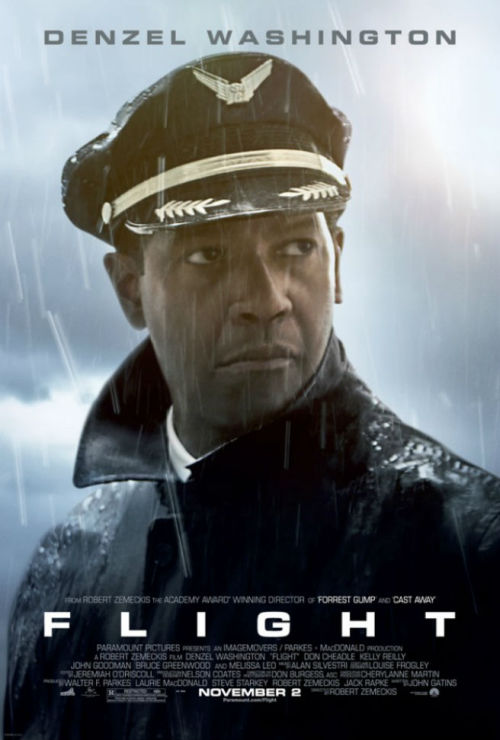 Our film fella Adam (FamousMonster) reviews 'Flight' starring Denzel Washington, Kelly Reilly, and Don Cheadle, from director Robert Zemeckis.