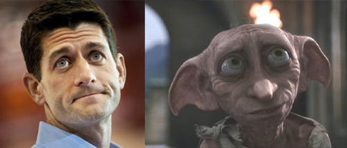 totallylookslike:  Paul Ryan and Dobby