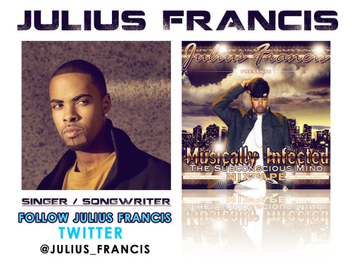 Julius Francis is a Vocalist, Engineer, Producer, and songwriter. With the ability to create an all original piece of music from the ground up this artist is multi-talented when it comes to music. His original goal was to become a Dentist, and get a (via Julius Francis is Musically Infected)