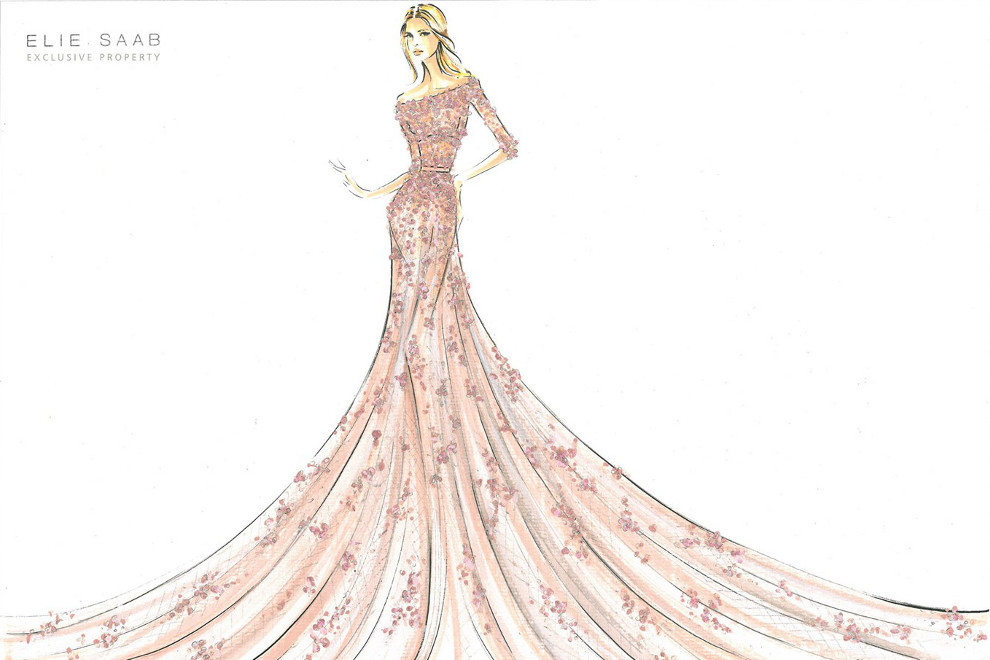 Aurora by Elie Saab for Harrods  So how do I get my hands on this.