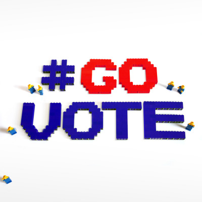 Dresscode gives #govote the Lego treatment. Click here to find your polling station and share these images with your friends to make sure they #GoVote as well. For more #govote images and to submit your own go to: govote.org