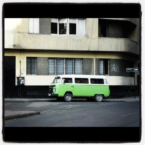 Green #instagram #car #picoftheday