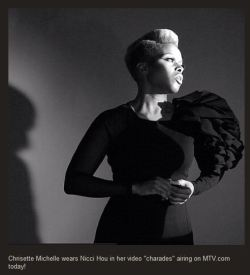 Behind the scenes of Chrisette Michele Charades video