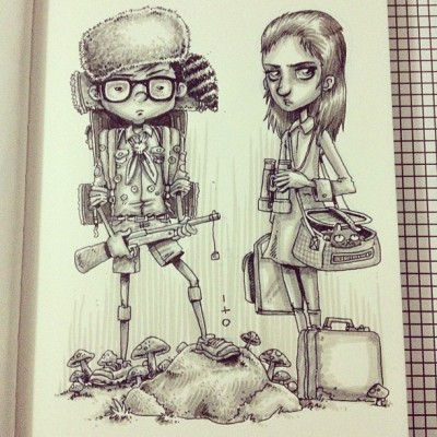 #moonrisekingdom #drawing #illustration #sketch #art