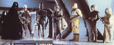 Bounty Hunters. We don't need their scum.