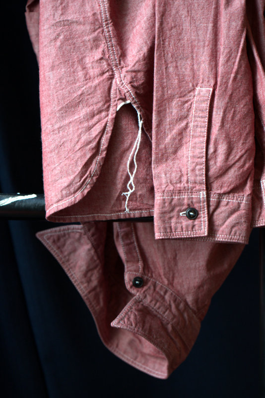 Armoury Red Chambray info@thearmoury.com