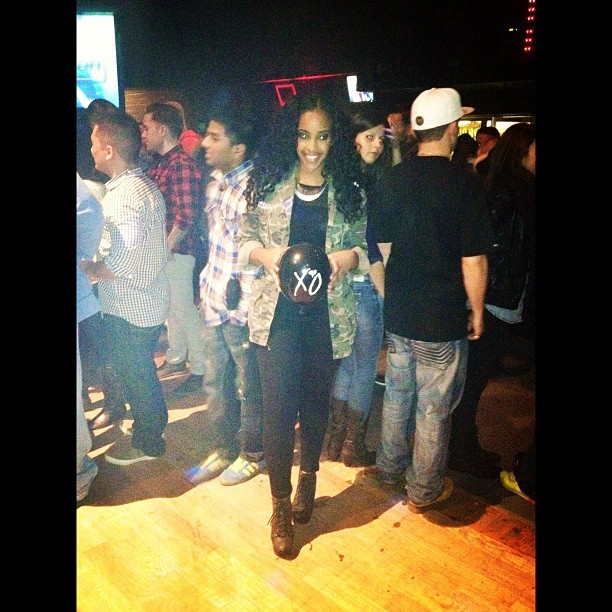 First post in ages. Me at The Weeknd's concert this weekend.