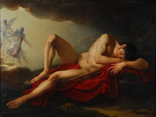 Jacques Reattu (French, 1760-1833), La Vision de Jacob, 1792, Oil on canvas, Reattu Museum, Arles, France