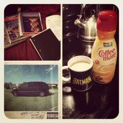no sleep tonight #coffee #chemistry #psychology #homework #batman #kendricklamar #fml