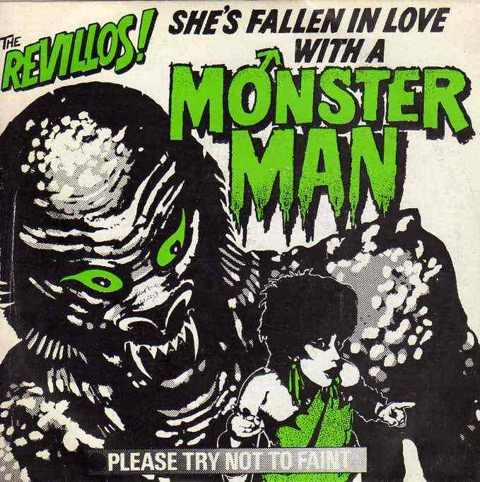 """The Revillos! """"She's Fallen In Love With A Monster Man"""""""