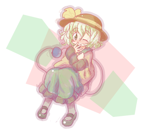 Quick Sketch - TouhouKoishi KomeijiI think Koishi is cute, so I drew her. It's been a while since I last drew a Touhou character. Since my fumo plushie of her and Satori will be arriving soon, I wanted to draw her.I was quite lost with this picture. It kind of felt like I was subconsciously (ha) drawing. That's why the picture is so much more messy and different than other pictures I've drawn lately.
