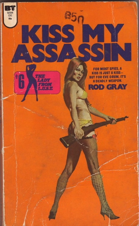 hotmonsters:  formicarius:  Kiss My Assassin by Rod Gray