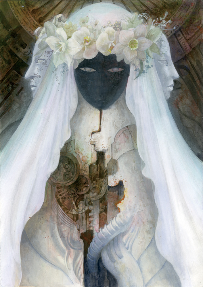 mererecorder:  Bride by ~TaKe-bamboo