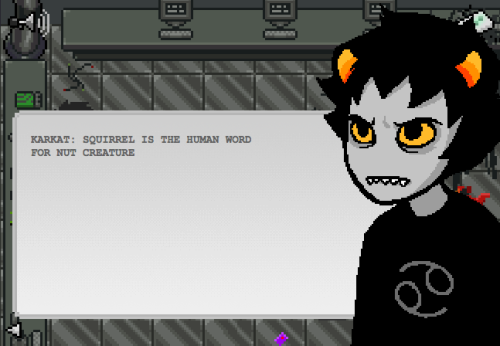 livsridderen:  the best line in homestuck