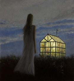 ..so lovely. | The Greenhouse by ARON WIESENFELD (Solo Exhibition - new paintings)