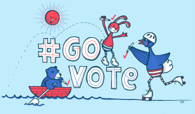 Emily Bluestar submitted this appeal for you to #govote - it looks fun! Click here to find your polling station and share these images with your friends to make sure they #GoVote as well. For more #govote images and to submit your own go to: govote.org