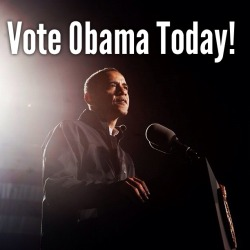 Vote Obama #obama2012 #teamobama #voteobamatoday • follow @jjuanent http://t.co/g9eRyUjL