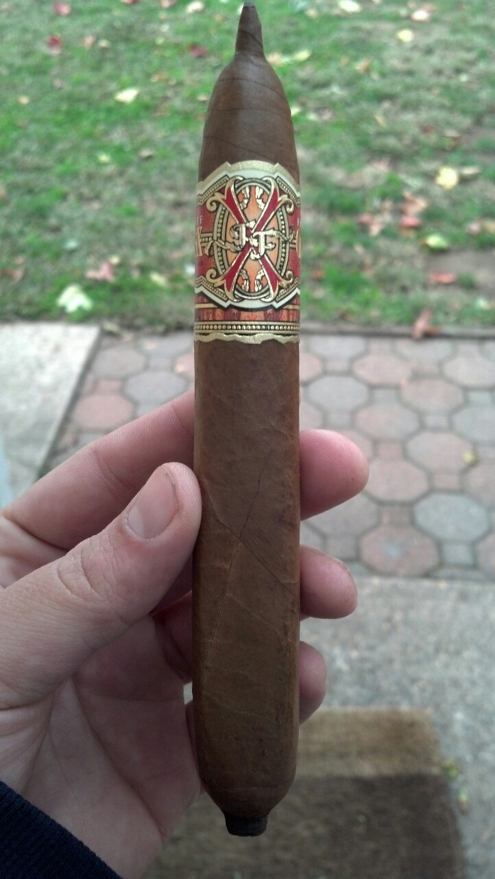 The birthday cigar. The Opus X El Escorpion