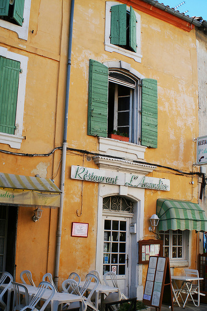 Arles, Provence-alpes-cote d'Azur on Flickr.Via Flickr: Restaurant L'Amandier 34, Rue Porte de Laure 13200 Arles, France +33 4 90 96 16 75 Vincent Van Gogh was a big fan of Arles Starry Night over the Rhone (September 1888) is one of Vincent van Gogh's paintings of Arles at night; it was painted at a spot on the banks of river which was only a minute or two's walk from the Yellow House on the Place Lamartine which Van Gogh was renting at the time. The night sky and the effects of light at night provided the subject for some of his more famous paintings, including Cafe Terrace at Night (painted earlier the same month) and the later canvas from Saint-Rémy, The Starry Night.