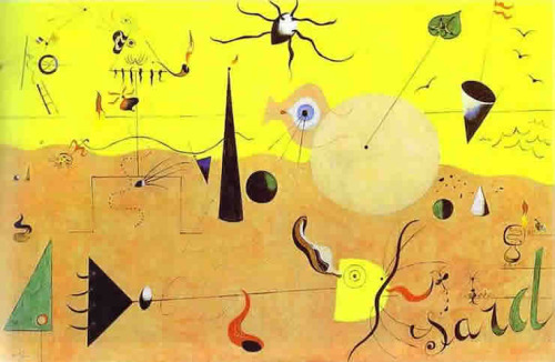 Paysage Catalan, by Joan Miro