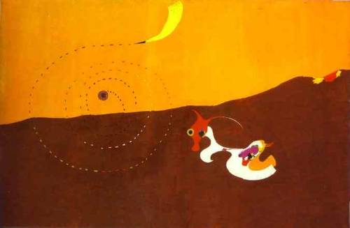 Landscape (The Hare), by Joan Miro