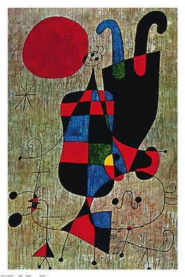 Inverted Personages, by Joan Miro