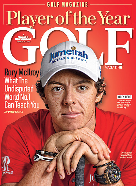 sigolfphotos:  Drumroll, please … Golf Magazine's Player of the Year is … RORY MCILROY!  MORFIT: Is there anything Rory McIlroy can't do?GALLERY: The best moments from McIlroy's season