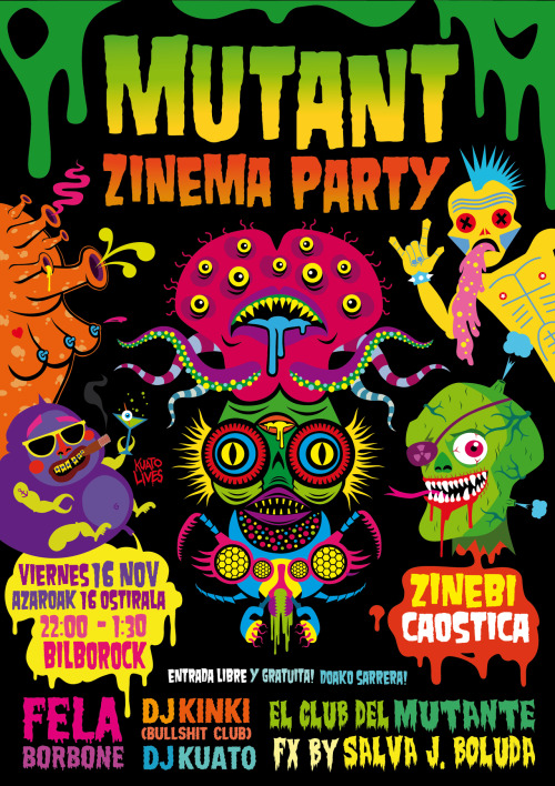 Mutant Zinema Party (2012)