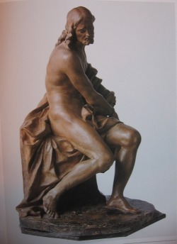 Gian Lorenzo Bernini, Christ Bound. terracotta