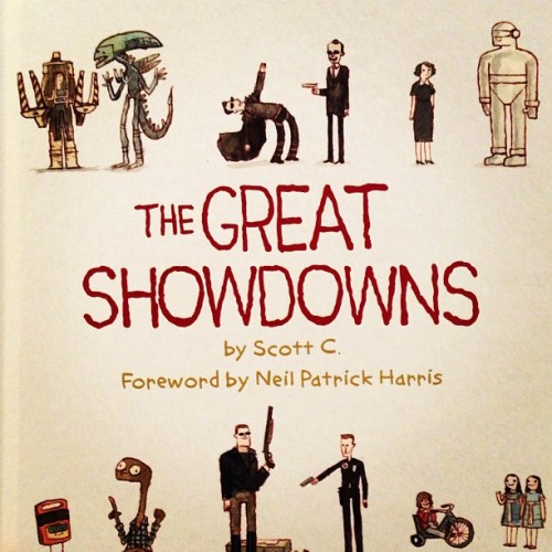 "How fitting! ""The great showdowns"" book I  ordered shows up on Election Day!"