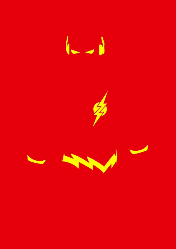 Minimalist Superheroes  Designed by Michael Turner of Blackpool, England, these incredibly simple two color tone portraits of DC and Marvel characters are part of an ongoing project. Head over to his Behance page to suggest more characters for him to design.  Ed note: Costume designer Mark Newport talks about knitting outfits for superheroes, both famous (Batman) and unknown (Sweaterman).