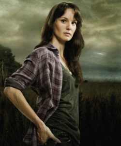 tv-movie-guy:  Well didn't Lori meet a less than glamorous ending… I wanted zombie Lori getting around with baby half out like Kuato, Total Recall style, LOL