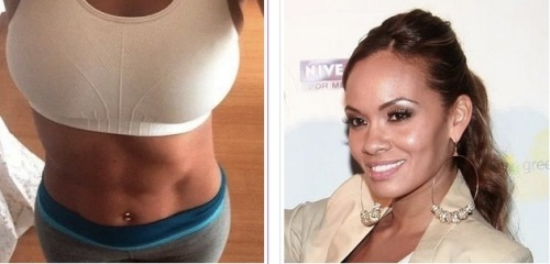 Ex-wife of Chad Johnson and Basketball Wives star Evelyn Lozada is ready to move on to the next stage in her life. Evelyn just signed a deal to promote an energy drink  called youthH2O. Evelyn also wants to sell her own gym equipment and gym videos and start her own work out empire… from the looks of it she has the body for it…