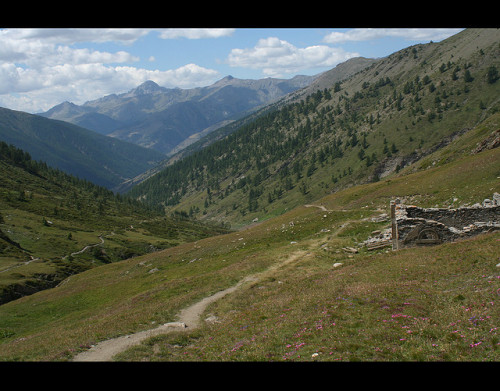 a house napoleon built (refuge napoleon) very close to the italian border…like one american rules football field on Flickr.Via Flickr: it's near Col d'Izoard (el. 2361 m.) is a high mountain pass in the Alps in the department of Hautes-Alpes in France. It is accessible in summer via the D902 road, connecting Briançon on the north and the valley of the Guil in Queyras, which ends at Guillestre in the south. There are forbidding and barren scree slopes with protruding pinnacles of weathered rock on the upper south side. Known as the Casse Desert this area has formed a dramatic backdrop to some key moments in the Tour de France, and often feature in iconic 1950s black and white photos of the race.