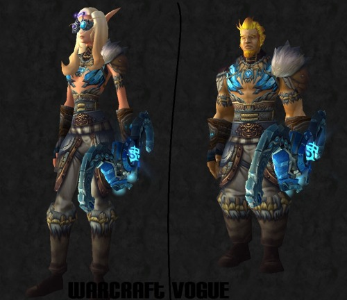 warcraftvogue:  More Sexy Hunter Love~ A bit more difficult to obtain. Head: Energized Retinal ArmorShoulders: Dreaming Spirit SpaulderChest: Armor of the Single CloudWaist: Fetters of DeathLegs: Leggings of Twisted VinesHands: Mitts of Burning HailFeet: Burnmender BootsBow: Crypt Fiend Slayer