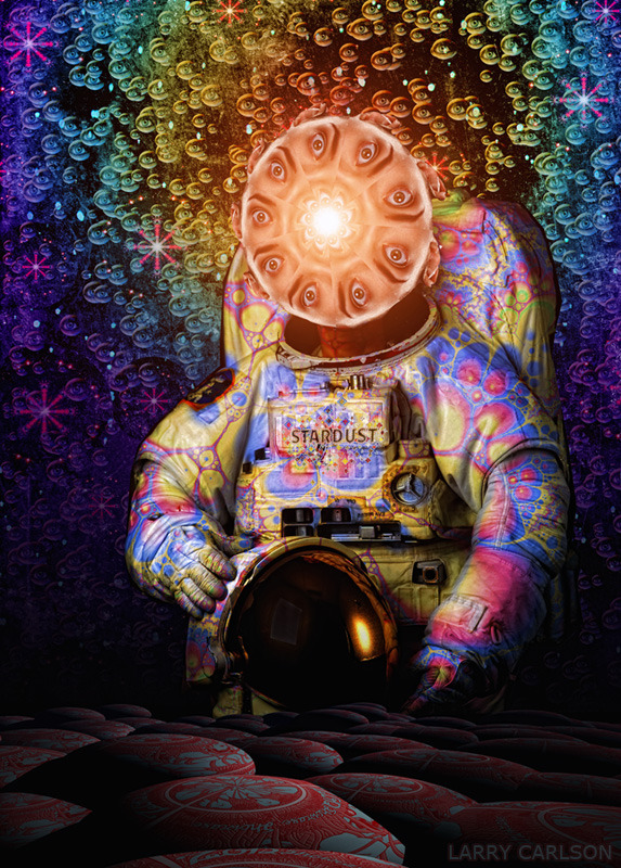 LARRY CARLSON, Major Stardust beyond Infinity, 2012.