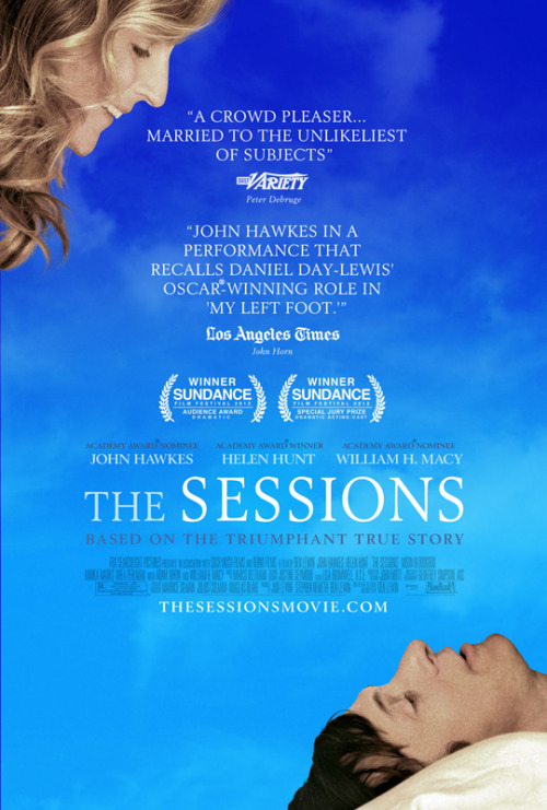 Films Watched in 2012: #195 - The Sessions (dir. Ben Lewin, 2012)
