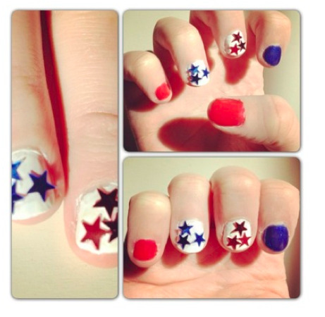 Star-spangled nails will have us celebrating the election results until the wee hours.