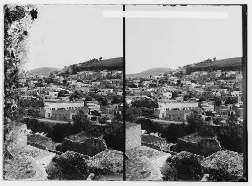 General view of Safad city before israeli occupation , Palestine , 1920 .