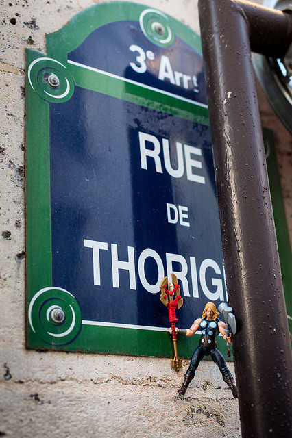 Thor rue de Thorigny on Flickr.