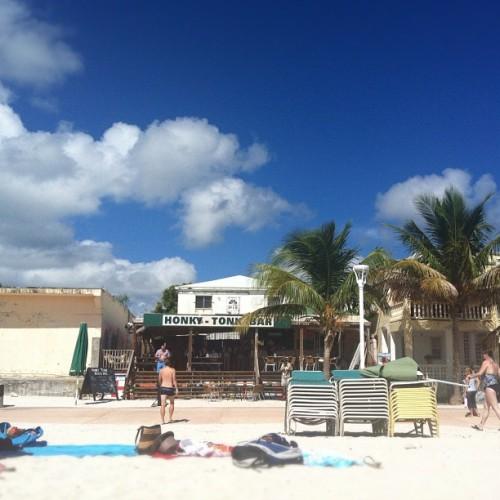 The ocean is salty here, too. #stmarten #caribbean #ncl #missyouall