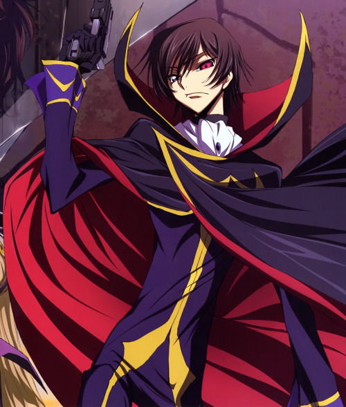 the-third-princess:  the-d4rkking:  I vote for Lelouch Lamperouge   All hail emperor Lelouch!