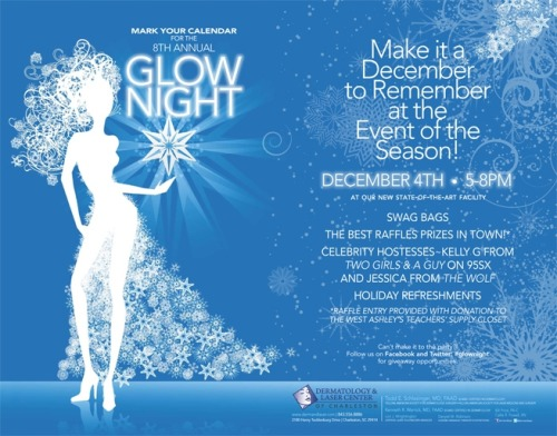Join us for our 8th Annual Glow Night! Let's make it a December to Remember!