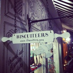 The Biscuiteers shop is a triumph